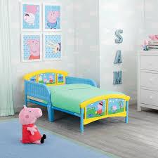 Delta Children Peppa Pig Plastic Toddler Platform Bed & Reviews