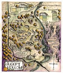 The Haunted Pumpkin Of Sleepy Hollow Soundtrack by Map Of Sleepy Hollow By Mernolan Tarrytown The Legend Of