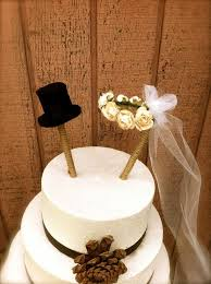 Rustic Wedding Cake Toppers With Modern Design Ideas 5