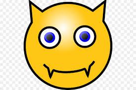 Smiley Devil Emoticon Clip Art
