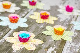 Beautiful Easter Candy Flowers With Paper Craft Ideas For Decoration Step By