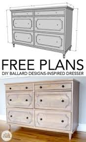 12 free diy woodworking plans for building your own dresser free