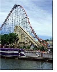 Dorney Park Halloween Commercial by Steel Force U0027 First Drop 9205ft Speeds Of 75mph Picture Of