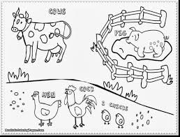 Brilliant Farm Animal Coloring Pages With Page And For Adults