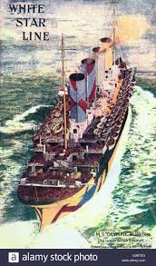Rms Olympic Sinking U Boat by White Star Line Cruise Stock Photos U0026 White Star Line Cruise Stock