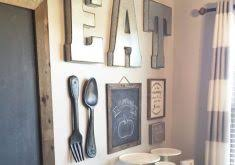 Wooden Fork And Spoon Wall Hanging by Fork And Spoon Wall Decor Himalayantrexplorers Com