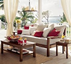 Pottery Barn Outdoor Curtains by 59 Best Outdoor Living Images On Pinterest Backyard Cement