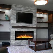 Electric Fireplace Wall Decor Create Rustic This Update Creates