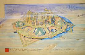 100 Frank Lloyd Wright Sketches For Sale Had A Plan To Build A City Of The Future On
