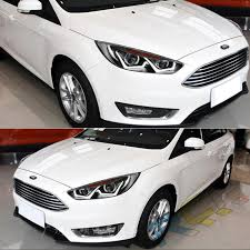 hid headlights for ford focus 2015 2016 front bumper led bi xenon