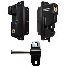 100 Keystone Truck Accessories Weatherables Black Zinc Diecast Metal 2Sided KeyLockable