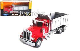 Peterbilt 379 Dump Truck Super Hauler Red 1/32 By Welly 39944