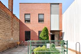 100 Contemporary Brick Architecture In Crown Heights Contemporary Brick Townhouse With Huge Backyard