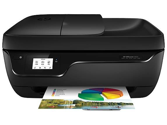 HP Officejet 3830 Wireless Color Photo Printer - with Scanner and Copier