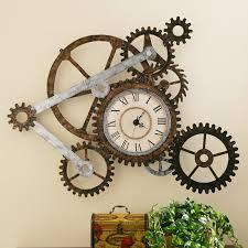 Southern Enterprises Gear Wall Clock Hayneedle Gears