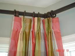 Bay Window Curtain Rods Walmart by Interior Home Interior Collection By Home Depot Curtain Rods