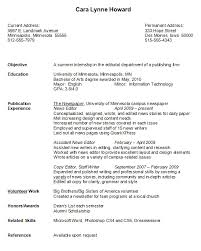 College Graduate Resume Example Samples Printable Examples