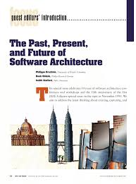 100 Stafford Architects PDF The Past Present And Future For Software Architecture
