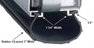 Garage Door Weather Seal Replacement Material