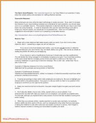 Employment Gaps On Resume Examples Elegant For