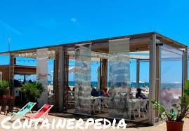 100 Shipping Container Beach House Club Named Santa Susanna In Spain