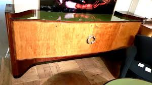 F 298 AS Italian 1940's Dining Room Set With Sideboard ...