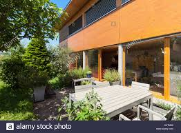100 Modern Wooden House Design Veranda Of A Wooden House Modern Design Stock Photo 171416898 Alamy