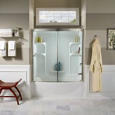 Home Depot Bathtub Surround by Ovation Curved 3 Piece Bathtub Wall Set American Standard