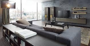wohnwand modern dunkel wohnzimmer ideen modern wohnzimmer