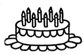 Birthday Coloring Pages Cakes And Candles