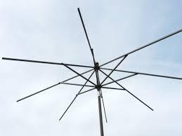 ft 8 rib market umbrella frame chagne