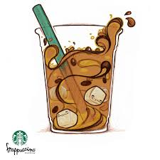 Drawn Starbucks Frap3451184