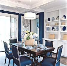 Gorgeous Blue Dining Room Themes Ideas To Add Fun Elegant And Romanticism In Your