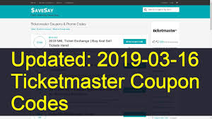 Ticketmaster Coupon Codes: 15 Valid Coupons Today (Updated: 2019-03-03) Swagbucks New Swagcode 3 Canada Code At Swagbuckscomshopstore Fleet Farm Coupon Code 2018 Holiday Deals From Belfast To Lanzarote Marcus Theatre Promo Michael Kors Styles Presale Ticket Tips And Tricks Codes Nba Store Free Shipping Amazon Student 2 Day Pbr Discount Ticketmaster Ugg Sf Proxy Hub Sf Opera Ticketmaster Voucher Parking Rduction Zalando Priv Process Historynet Disney On Ice Debenhams In