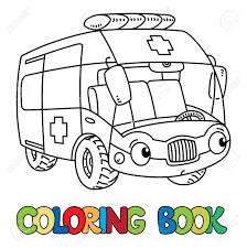 Coloriage Camion Ambulance A Imprimer Ambulance Coloring Pages Print