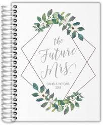 Diamond Frame Greenery Wedding Planner