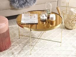 couchtisch lucea glas gold goldbraun ch