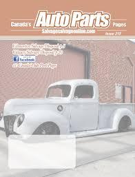100 Truck Parts Edmonton Salvage Salvage The Magazine