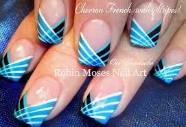 Nail Art Cool Easy Nail Art Stripes Tutorial summer Nail