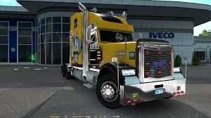 FREIGHTLINER CLASSIC XL CUSTOM FOR 1.25 | ETS2 Mods | Euro Truck ... On Everything Trucks 2016 Roll Off Truck Vocational Trucks Freightliner Coronado Sales At Los Angeles M2 106 Custom Classic Filefreightliner Truck In Vietnamjpg Wikimedia Commons Interiors San Antonio Quality This Xl Reworked By Vitalik062 Ats Mods American Semi Gallery 1 Semitruckgallerycom Mini One Of A Kind Diesel 25 For Troy Huddlestons Butterflydoored Jamborees Beauty Contest Names Winners