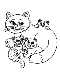Fat Cat Coloring Pages For Kids PrintableKidsfreecoloringNet