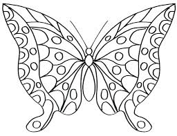 Coloring Pages Flowers And Butterflies Three Cute Colouring Monarch Butterfly