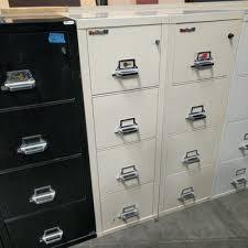 fireking 25 vertical 4 drawer fireproof file cabinet putty