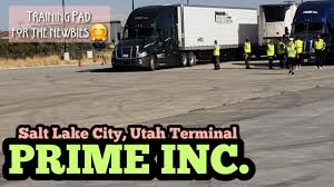 100 Prime Trucking School PRIME INC SALT LAKE CITY UTAH TERMINAL TOUR YouTube