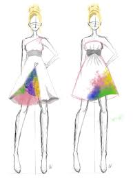 Prom Dress Sketches By AmberxGayle