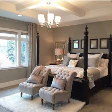 We Love Every Detail Of This Beautiful Bedroom Designed By Chairs At The Foot Bed