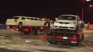 100 Truck Limos 11 Injured 5 Critically In Crash Involving Limousine And 2 Other