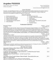 Sample Fitness Instructor Resume Personal Trainer Company La Zumba