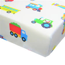 100 Toddler Truck Bedding Olive Kids Trains Planes And S 100 Cotton Fitted Sheet ONLY Size Boys Girls Decor