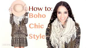 Fall Winter Fashion Tips Boho Chic Outfit Ideas